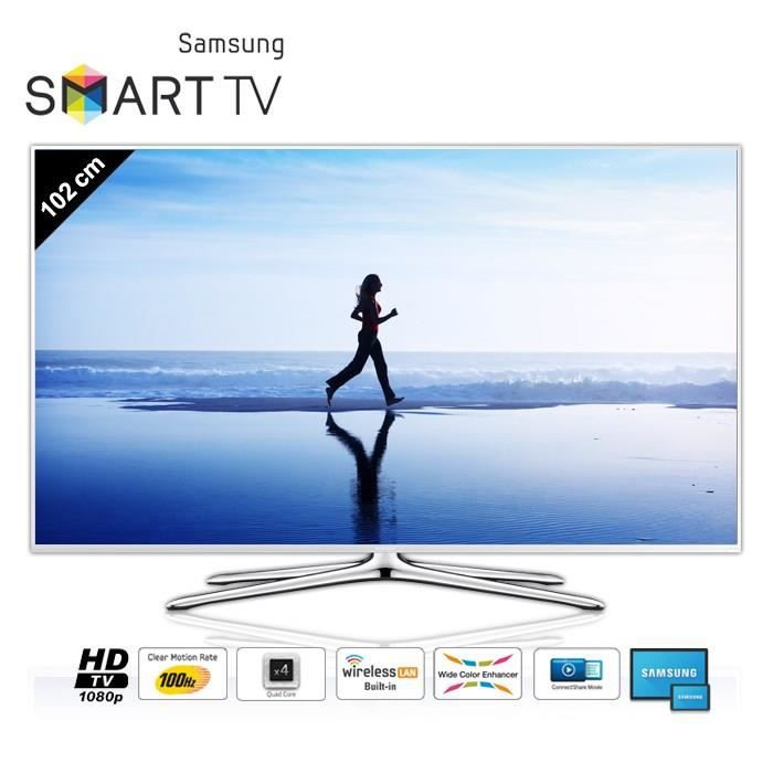 samsung ue40h5510 smart tv full hd 102 cm t l viseur led avis et prix pas cher soldes d. Black Bedroom Furniture Sets. Home Design Ideas