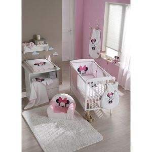 tour de lit minnie achat vente tour de lit minnie pas cher cdiscount. Black Bedroom Furniture Sets. Home Design Ideas