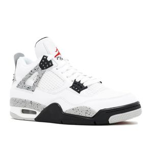 timeless design f5d33 bbd6c BASKET AIR JORDAN 4 RETRO OG HOMME Blanc ...