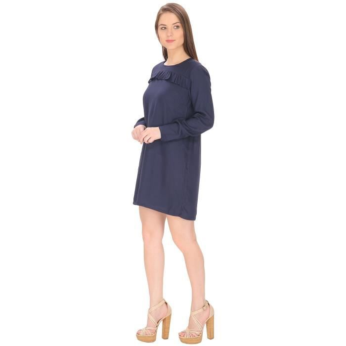 Womens Ruffle Dress ForCWSRC Taille-38