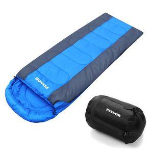 SAC DE COUCHAGE 1PC Sac de couchage avec sac de compression Campin
