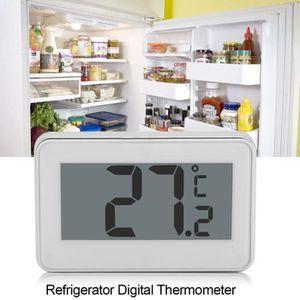 THERMOMÈTRE DE CUISINE Thermomètre de réfrigérateur numérique d'affichage