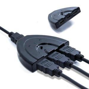 REPARTITEUR TV HDMI Répartiteur Switch Commutateur avec Câble 3 E