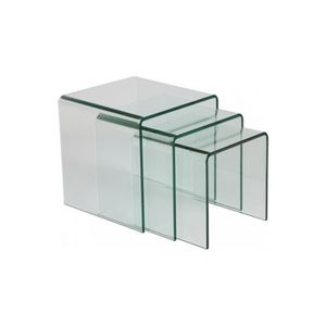 Table gigogne transparente achat vente table gigogne transparente pas che - Table gigogne transparente ...