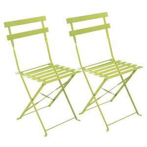 de chaises de jardin Lot pliantes qS4Aj35RLc