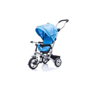 POUSSETTE  Poussette-Tricycle Evolutive Deluxe Bleu,  84L x 5