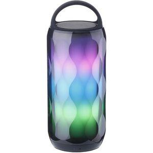 ENCEINTE NOMADE POHO Enceinte Bluetooth Lumineuse LED Haut-Parleur