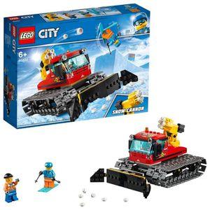 ASSEMBLAGE CONSTRUCTION LEGO City - La dameuse - 60222 - Jeu de constructi