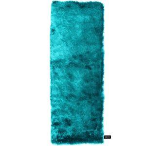 TAPIS benuta Tapis à poils longs Whisper Turquoise 80x3