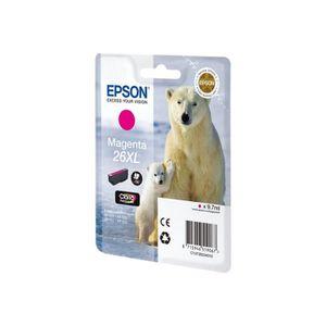 CARTOUCHE IMPRIMANTE Epson 26XL 9.7 ml XL magenta originale cartouche d