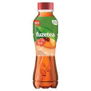 Soda - Thé glacé Fuze Tea - Fuze Tea Evasion Pêche Hibiscus 40cl (p