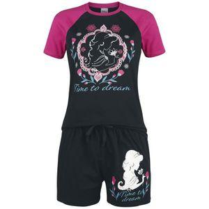 Alice Au Pays des Merveilles Time After Time Femme Bas de Pyjama Rose//Blanc,