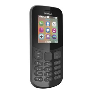 Téléphone portable NOKIA 130 Téléphone portable Noir DS