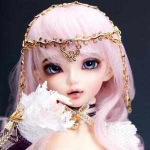 POUPÉE Livraison en français BJD SD Doll 1/4 Fille Bébé M