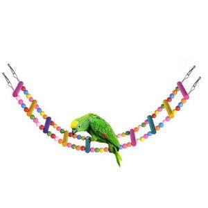 Bois Couleur Libertroy Jouet en Bois pour Oiseaux de Compagnie cr/éative Miroir Jouet dr/ôle avec Cloche pour Cockatiel Petits Oiseaux Jouets Accessoires pour Animaux de Compagnie