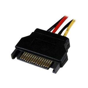 CÂBLE D'ALIMENTATION Câble d'alimentation interne LP4 SATA de 30 cm F/M