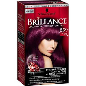 COLORATION SCHWARZKOPF Coloration Permanente Brillance - Viol