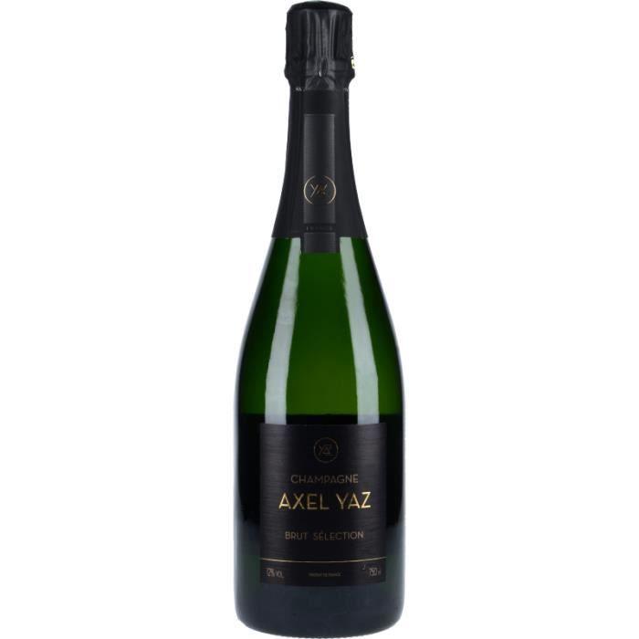 Champagne et Méthode Traditionnelle - Champagne Axel Yaz Brut Sélection Blanc