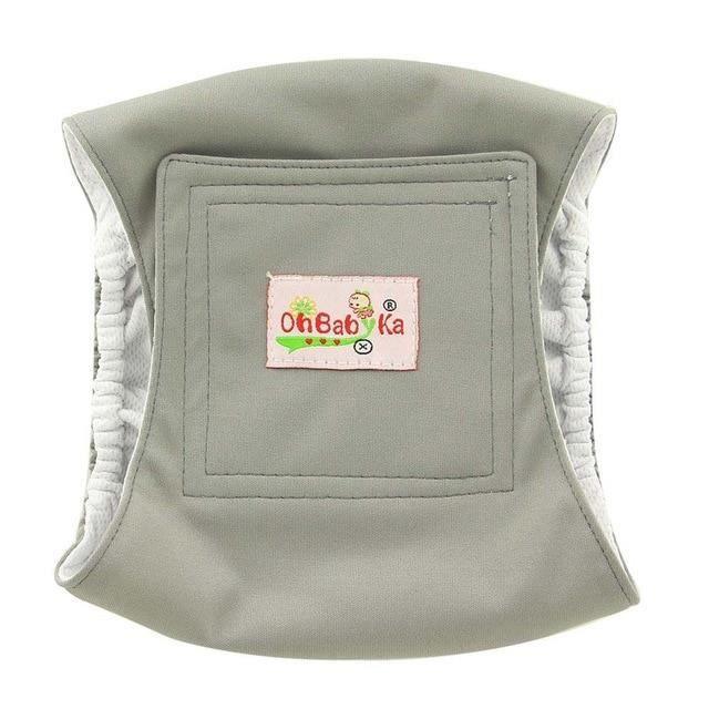 Culotte Hygiénique,Ohbabyka short lavable pour chien masculin,Couches hygiéniques pour animaux domestiques,sous - Type MGNK01-S