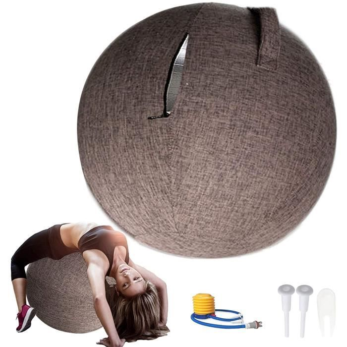 BALLON SUISSE - GYM BALL - SWISS BALL ZXLLO Swiss Ball Grossesse Chaise De Bureau Ergonomique 55-65 - 75cm Chaise Ballon Yoga Ba488