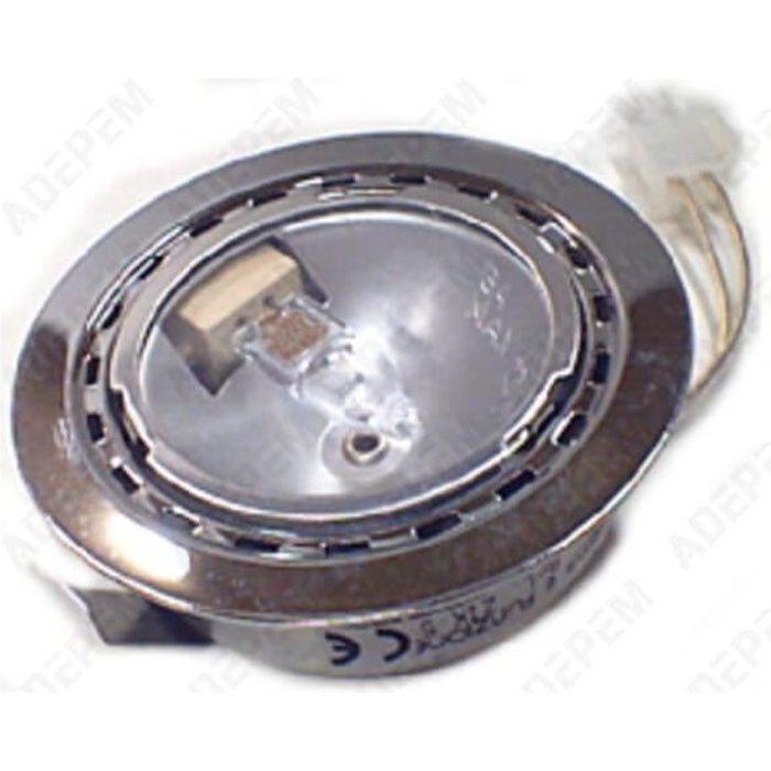 Spot + ampoule halogene 12v 20w pour Hotte Bosch, Hotte Siemens, Droguerie Accessoire, Hotte Neff, Hotte Gaggenau - 3665392009511