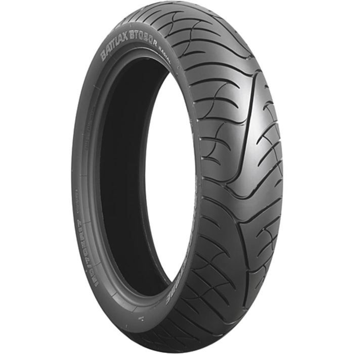 BRIDGESTONE 160/7017 1MM979V BT-020 RZ Pneu Moto RoutePNEUS