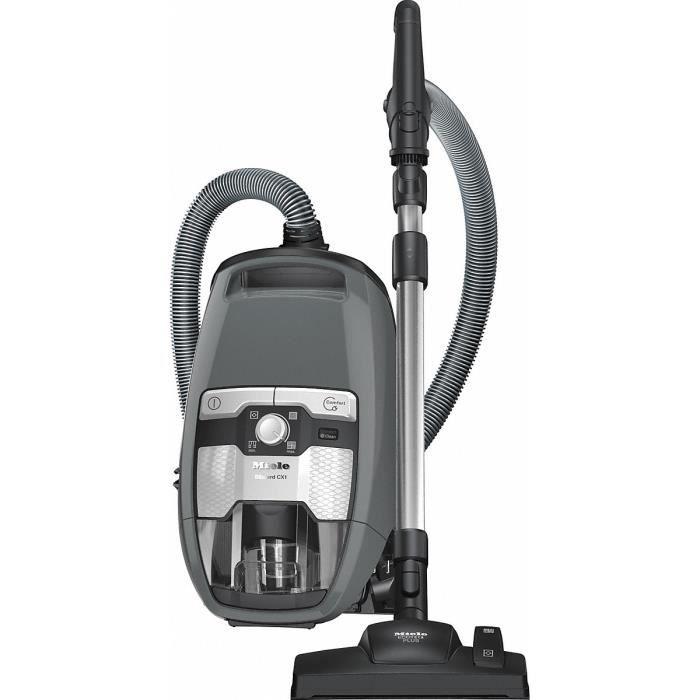 Miele Blizzard CX1 Excellence EcoLine - SKCP3, 550 W, A+, 20,5 kWh, Aspirateur réservoir cylindrique, Sac à poussière, 2 L
