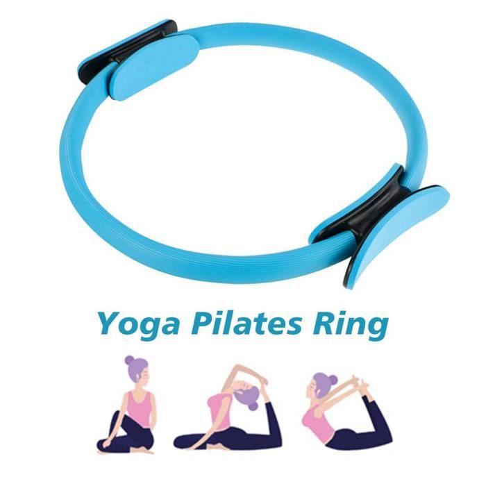 Fitness Magic Wrap Yoga Pilates Anneau Minceur Body Building Training Yoga Circle (Diamètre 39cm)
