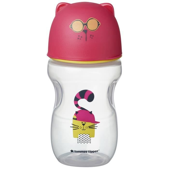 TOMMEE TIPPEE Tasse de transition 300 ml déco rose
