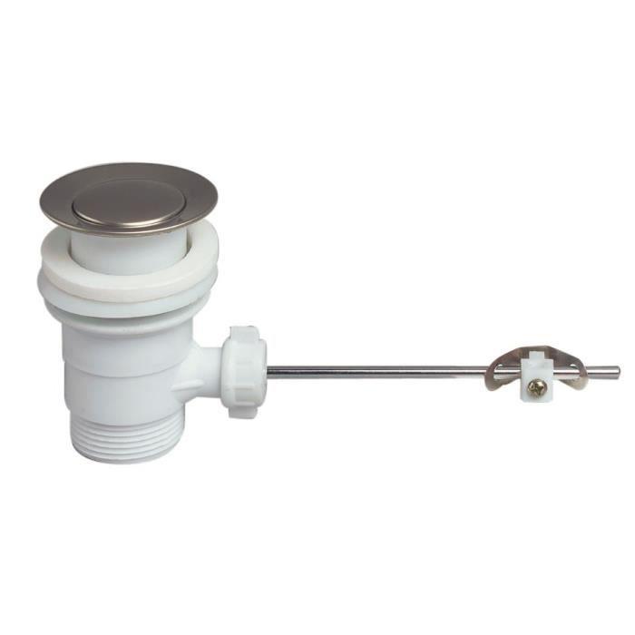 WIRQUIN Bonde de lavabo sans tirette SP201 - Plastique