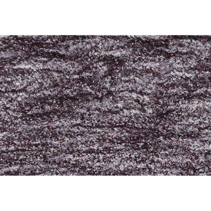 allotapis tapis shaggy en polyester design noir chin gris et blanc ethno 60x110cm noir. Black Bedroom Furniture Sets. Home Design Ideas