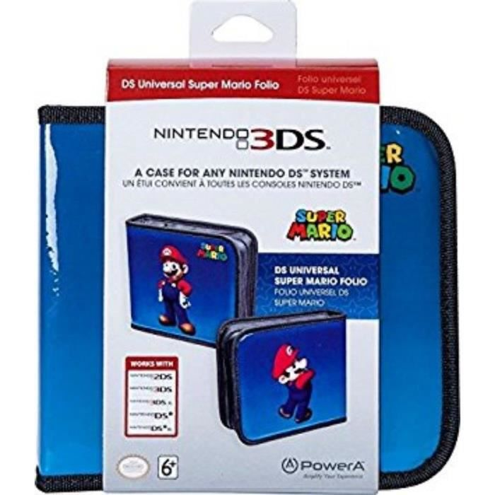 Power a housse super mario nintendo 2ds 3ds xl dsi for Housse nintendo 2ds xl