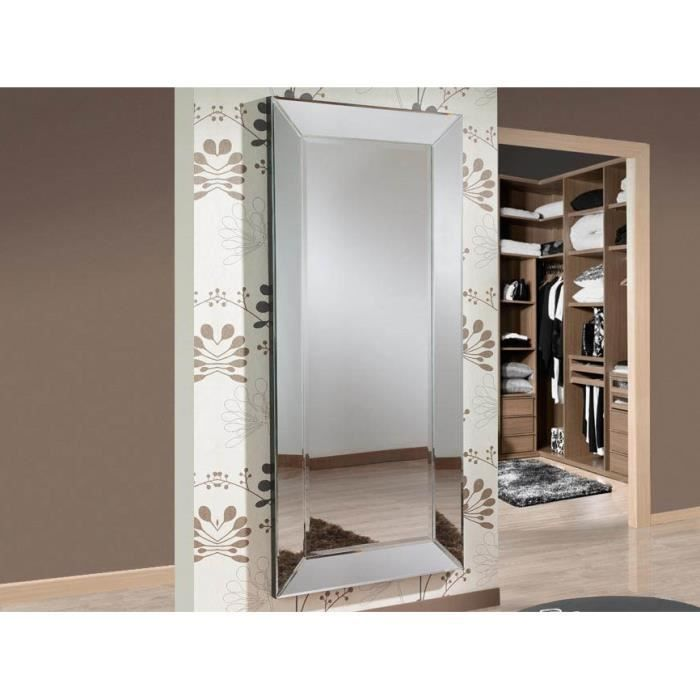 grand miroir design mod le roma achat vente miroir. Black Bedroom Furniture Sets. Home Design Ideas