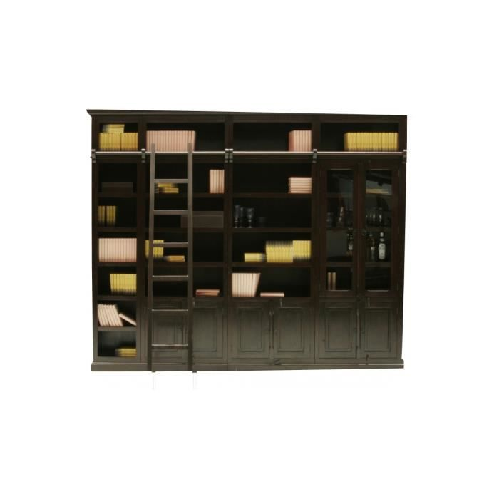 bibliotheque cabana element vitrine kare design achat vente biblioth que bibliotheque cabana. Black Bedroom Furniture Sets. Home Design Ideas