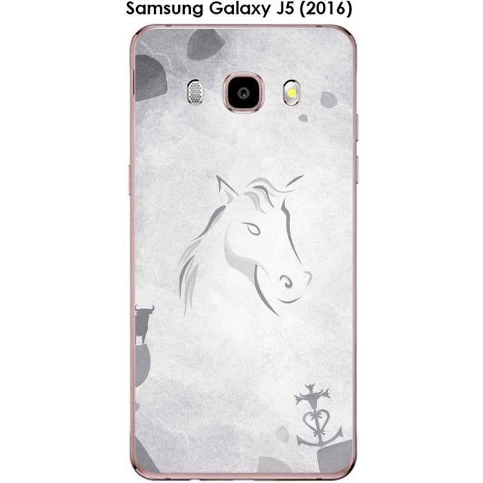 Coque Samsung Galaxy J5 (2016) design Le cheval et le taureau ...