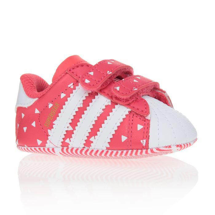 ADIDAS ORIGINALS Baskets Superstar Crib Chaussures Bébé Fille Rose ...