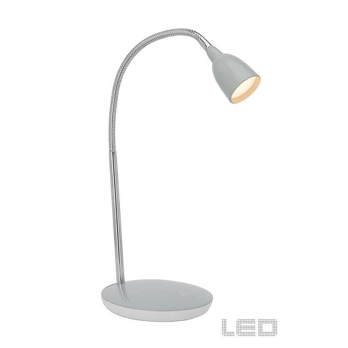 Mini lampe de bureau pliante ultra-légère LED Pliable Charge du câble USB Blanc