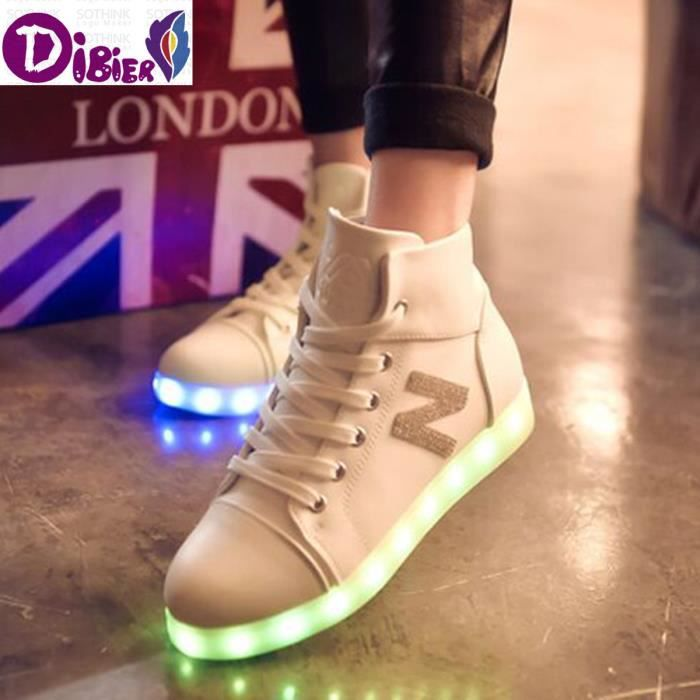New Le Lumineux Lumires black Mode White Femmes Chaussures EqwFp44