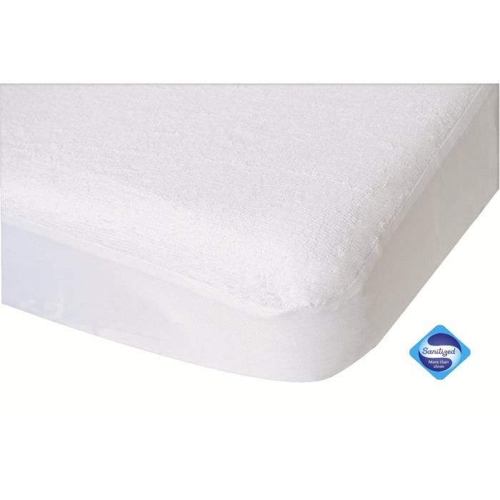 Doux nid prot ge matelas toucan blanc blanc achat for Protege matelas bebe