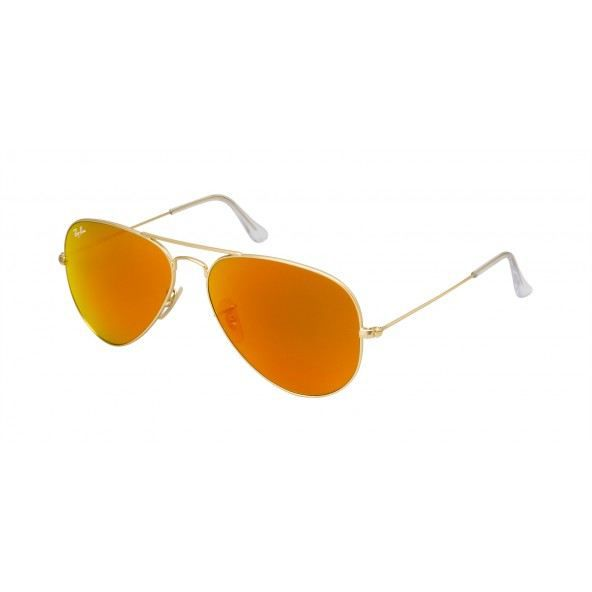 Ray-ban Aviator Large Metal Rb 3025 112 69 Ora… Orange - Achat ... d2e44d82e9aa
