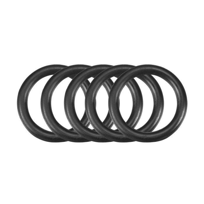 50pcs noir Caoutchouc nitrile NBR Joint torique étanchéité 30mm x 2,5 mm