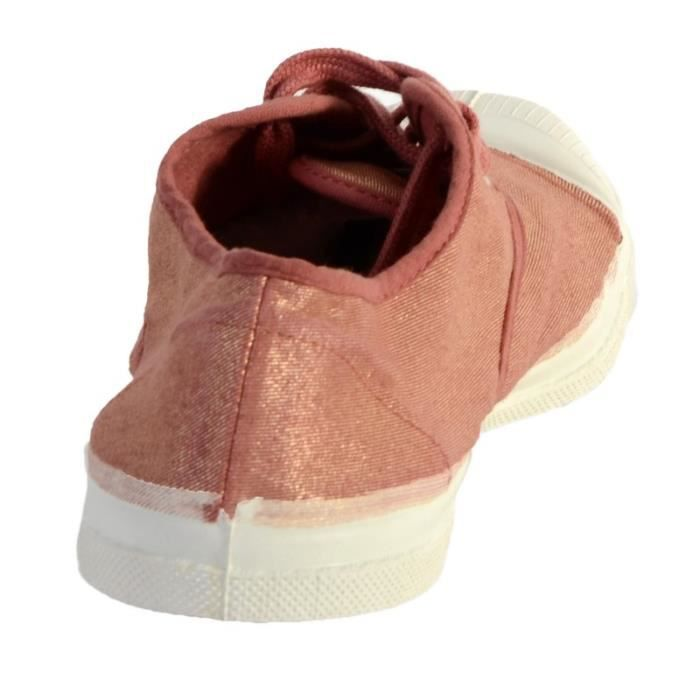 Tennis Bensimon Lacet Shinny 410 Rose