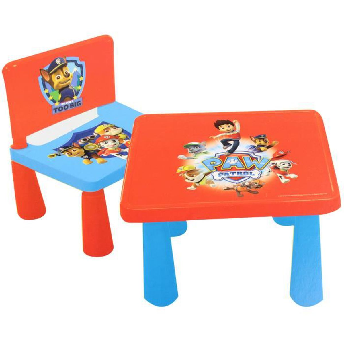 Paw patrol disney related keywords paw patrol disney for Ensemble table chaise cuisine