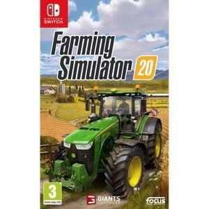 JEU NINTENDO SWITCH Farming Simulator 20 Jeu Switch