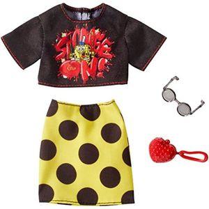POUPÉE Poupee UYF97 SpongeBob Black Top and Yellow Polka