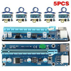 CÂBLE TV - VIDÉO - SON lot de 5 pcs USB 3.0 PCI-E Express 1x  à 16x Exten