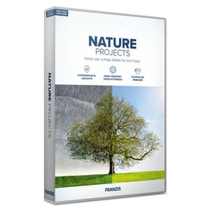 MULTIMÉDIA Franzis NATURE projects, Allemand, 1 licence(s), B