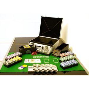 MALETTE POKER MALETTE  POKER PRO  COMPLETE 600 JETONS