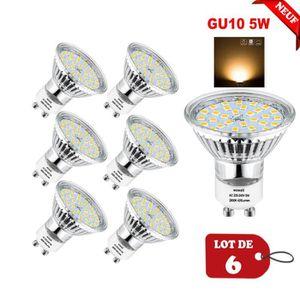 AMPOULE - LED Wowatt Ampoule LED GU10 5W éqv. 40W Blanc Chaud 28