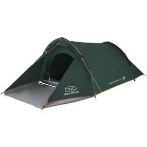 TENTE DE CAMPING Highlander Blackthorn 2 Tente Chasseur Vert/Orange